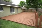 Houston Back yard Deck refinish
